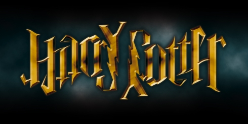 """Harry Potter"", rotational ambigram"